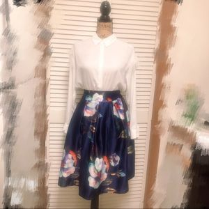 Oil painting dress